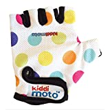 "Kiddimoto GLV011S ""Pastel Dotty"" Gloves, Small"
