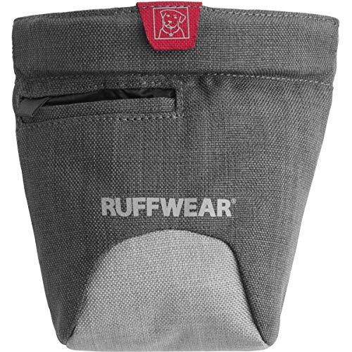 Ruffwear - Bolsa para Perro con Clip de Cintura y cinturón, Talla única, Color Gris