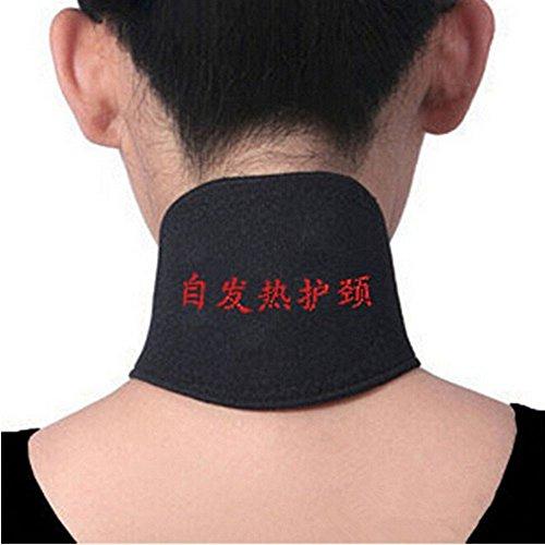 Nackenschutz gaddrt Selbsterhitzung Magnetfeldtherapie Kopfschmerz Gürtel Nackenmassagegerät Gürtel Schwarz
