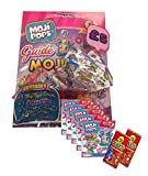 MOJIPOPS SERIES 1 STARTER SET - INCLUDES MOJI POP STARTER PACK (Glitter Story 5 FIGURE PACKS - PLUS 2 x GoGo TRADING CARDS