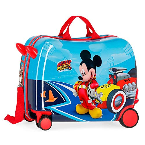 Lets Roll Mickey multidirectional wheeled suitcase