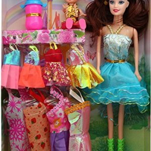 Baby Doll with Dresses and Accessories for Girls by Wishkey b6d3de5d27