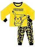 Pokemon - Pigiama a maniche lunga per ragazzi di Pikachu - 7 - 8 Anni