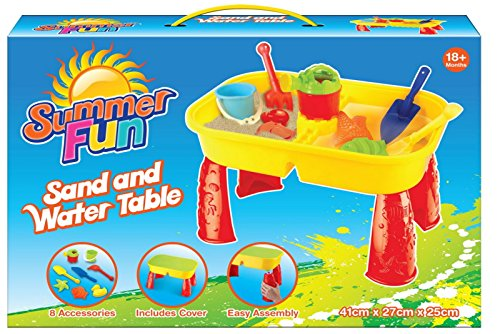 Summer fun Sand and Water Table - Great fun on the beach or in the garden - TY1987