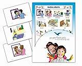 Tarjetas con ilustraciones en español - Rutina diaria - a modo de juego, amplían el vocabulario básico, la construcción de frases y la gramática: para guarderías, escuelas de primaria o logopedia