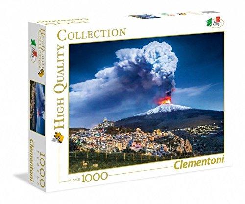 Clementoni - 39453 - High Quality Collection Puzzle - Etna - 1000 Pezzi