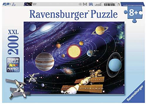 Ravensburger 12796, Sistema solare, Puzzle XXL da 200 pezzi