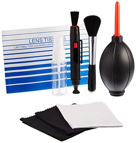 AmazonBasics - Kit di pulizia per fotocamere reflex e dispositivi elettronici sensibili