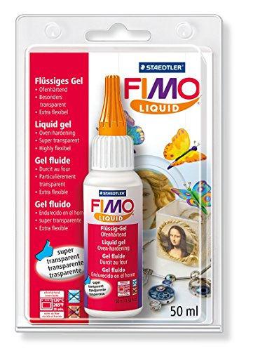 Staedtler FIMO Liquid 8050 Gel decorativo Color transparente 8050-00 BK