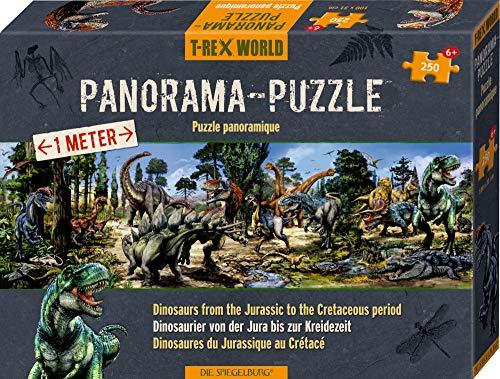 T-RexWorld Giocattoli Bambini Panorama Puzzle Motivo Dinosauri Serie