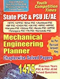State PSC & PSU JE/AE Mechanical Engineering Planner ( English)