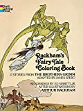Rackham's Fairy Tale Colouring Book (Dover Classic Stories Coloring Book)
