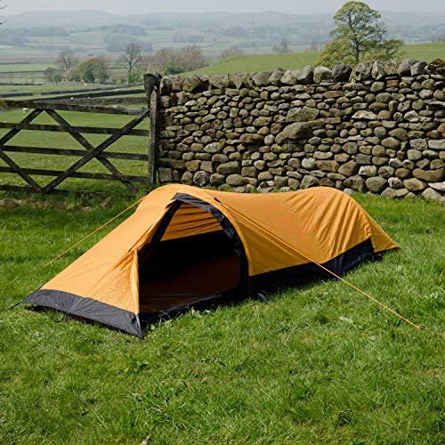 Snugpak Journey Solo Backpacking Tent Sunburst Orange