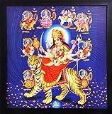 PAF Goddess Durga Framed Wall Art Paintings