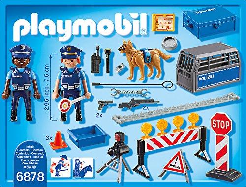 PLAYMOBIL 6878 – Polizei-Straßensperre - 3