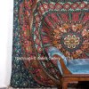 Aakriti Gallery Tapestry Queen Flower Hippie Tapestries Mandala Bohemian Psychedelic Intricate Indian Bedspread 92x82 Inches Brand Name 1