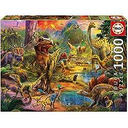Educa Borrás Puzzle 1000 Tierra de Dinosaurios (17655)