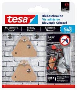 tesa-Klebeschraube-fr-Mauerwerk-und-Stein-Halteleistung-5-kg-2-Stck