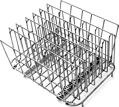 LIPAVI L15 Rastrelliera Sous Vide. Accessori in acciaio inossidabile 316L per cucina In acciaio inossidabile, regolabile, pieghevole. 27x17x20cm