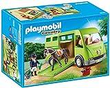 PLAYMOBIL Country Transporte de Caballo con Holstein y...