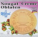 WETZEL Karlsbader Oblaten Nougatcreme, 12er Pack (12 x 150 g)