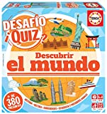 Educa Borrás- Desafio Quiz-Descubrir El Mundo, Color Variado (18218)