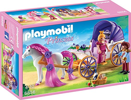 PLAYMOBIL 6856 - Königspaar mit Pferdekutsche