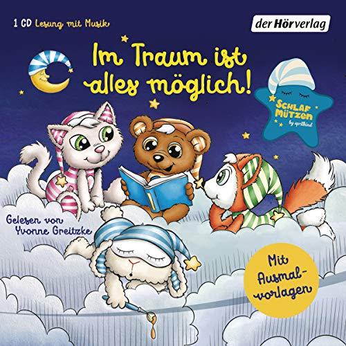 Schlafmützen. Im Traum ist alles möglich!: Eine Gute-Nacht-Geschichte (Schlafmützen-Reihe, Band 1)