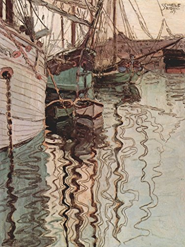 Lais Puzzle Egon Schiele - Velieri nell'Acqua Lavata dalle Onde (Il Porto di Trieste) 1000 Pezzi