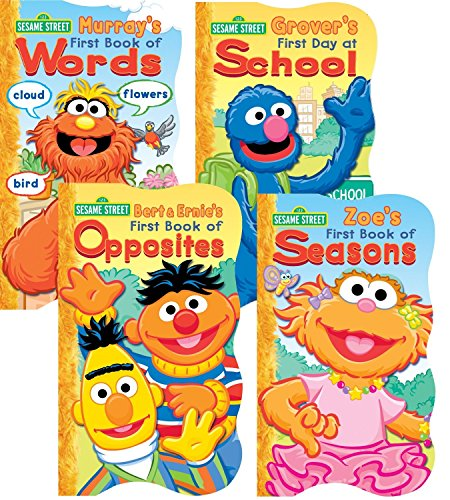 Sesame Street Board Books - Set of Four by Sesame Street