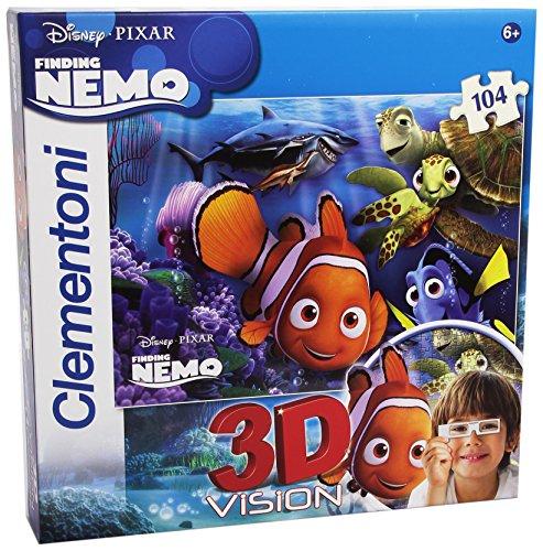 Clementoni 20071 - Puzzle 3D Nemo (1), 104 Pezzi