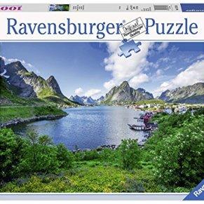 Ravensburger- Puzzel Lofoten Harbour: 1000 stukjes Puzzle (19711)