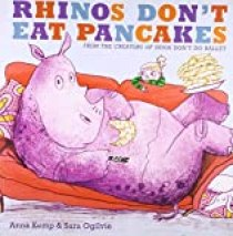 Rhinos Don't Eat Pancakes on Amazon