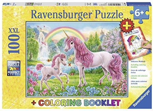 Ravensburger 13698–Puzzle con Magico Unicorno