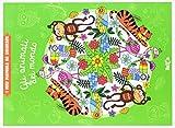 Gli animali del mondo. I miei mandala da colorare. Ediz. illustrata