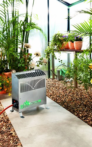 Perfect for overwintering and cultivation of plants, whether you need to keep your greenhouse frost free for tender plants or growing cutting, the Bio Green FY 25/GB 2.5KW Frosty Propane Greenhouse Heater offers safety, durability and more importantly reliability.