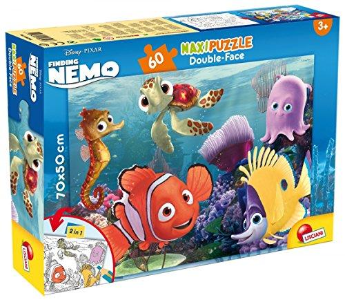 Lisciani Giochi 48243 - Nemo Puzzle Doppia Faccia Supermaxi, 60 Pezzi