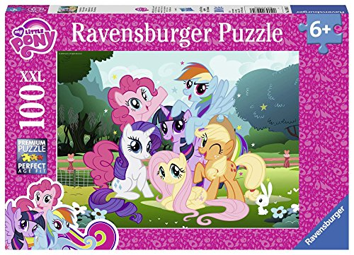 Ravensburger My Little Pony-100 Pezzi XXL, Multicolore, 10935 7