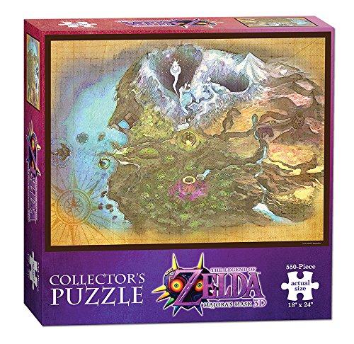 USAopoly The Legend of Zelda Majora Mask termina Map Puzzle da Collezione