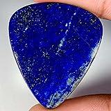 42.35CTS. 100% naturale incredibile lapislazzuli blu pera cabochon sciolto pietre preziose