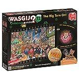 Wasgij Christmas 12 The Big Turn On Jigsaw Puzzle (1000-Piece)