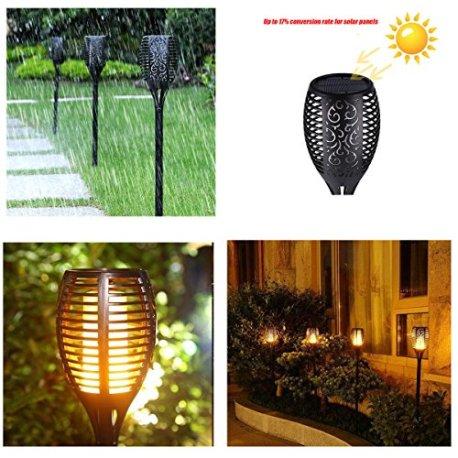 ChaozanLampe-Torche-Solaire-de-Jardin-IP65-Lampes-dEclairage-de-Flamme-Impermable-96LED-Extrieures-Vacillantes-de-Scurit-Lampes-Jardi