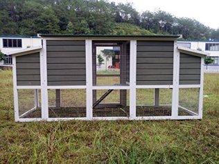 Ein schickes Hühnerhaus das man in den Garten stellen kann