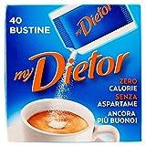 MyDietor Dolcificante, Zero Calorie - 40 Bustine