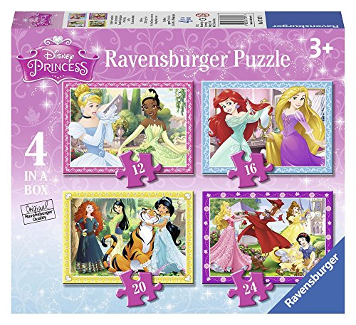 Ravensburger 07397 - Disney Princess, 4 Puzzle