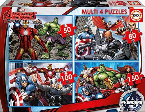 Educa The Avengers Puzzle, Colore Vario, 841266816331