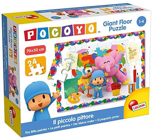 Lisciani Giochi Pocoyo Giant Floor Puzzle-Il Piccolo Pittore, 65943.0
