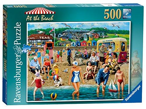 Ravensburger - Puzzle, Soggetto: in Spiaggia, 500 pz.