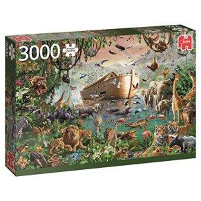 Jumbo-Noah's Ark pcs El Arca de Noé, Puzzle de 3000 Piezas (618326)