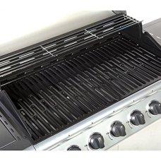 Fireplus-61-Gas-Burn-Grill-BBQ-Barbecue-w-Side-Burner-Storage
